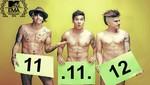 Adammo se desnuda en busca de votos para los premios MTV Europa