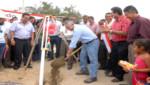 Ministro de Vivienda inaugura más de 6,300 metros cuadrados de pistas y veredas y entrega 500 títulos de propiedad en Tumbes