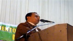 Discurso de Gregorio Santos en el distrito de Villa El Salvador:  20 de septiembre de 2012
