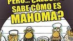Revista española se burla del Profeta Mahoma