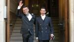 Actor chileno contrajo matrimonio junto a su novio en Bélgica