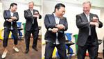 "PSY enseñó el ""Gangnam Style"" a presidente de Google [VIDEO]"