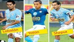 Sporting Cristal: Lobatón, Yotún y Sheput emigrarían próximamente