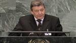 Perú ratificó su apoyo a Palestina para que sea reconocida como Estado ante la ONU