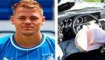 Futbolista del Hoffenheim de Alemania quedó grave tras sufrir accidente de tránsito