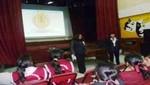 [Huaraz] Fiscalía de Independencia realiza charla contra el 'Bullyng' en el Colegio Jorge Basadre