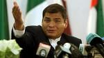 [III Cumbre ASPA] Rafael Correa confirmó su presencia en la capital peruana