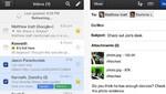 Nueva aplicación de Gmail se adecua a pantalla del iPhone 5