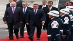 Presiente Humala se reunió con el rey de Jordania