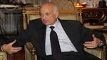 Nabil El-Araby pide solucionar los casos de Siria y Palestina