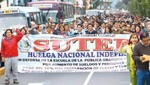 El  Sutep sigue en su pie de lucha contra el Ministerio de Eduación [VIDEO]