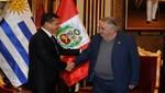 Mandatario recibió en Palacio de Gobierno a su homólogo uruguayo José Mujica