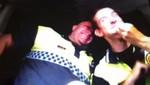 Suspenden a dos policias por bailar mientras conducen la patrulla [VIDEO]