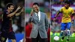 Pelé: Neymar es más técnico pero Messi ahora es el mejor
