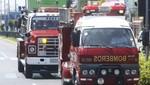 Es 6 de octubre los bomberos acompañaran el recorrido del Señor de los Milagros