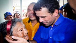 Henrique Capriles a Chávez: le deseo larga vida y que se vaya en paz
