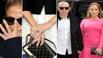 Jennifer Lopez luce anillo de compromiso