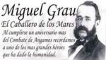 La Municipalidad de Santiago de Surco le rindió un homenaje al almirante Miguel Grau
