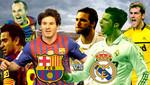 Fútbol español: Barcelona recibe al Real Madrid en el Camp Nou en duelo de estrellas