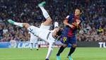 Cristiano Ronaldo sufrió esguince en el hombro por intentar hacer una 'pirueta'