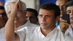Capriles acepta su derrota: La palabra del pueblo es sagrada