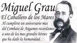 Piura le rinde homenaje al almirante Miguel Grau Seminario