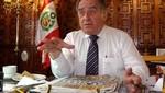 Antero Flores sobre gestión de Humala: 'Aquí no hay milagros el presidente se dio cuenta que este era el camino'