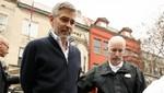 George Clooney pagó 100 dólares como fianza para ser liberado