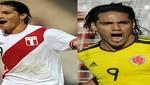 Vea los goles del Perú vs. Colombia