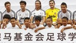Video: Vea el partido que jugó Real Madrid ante 109 niños en China