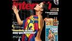 Larissa Riquelme posó desnuda para Barcelona y el Real Madrid