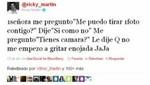Ricky Martin es agredido por fanática