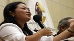 Keiko Fujimori a presidente Humala: espero que el indulto lo resuelva el criterio humano