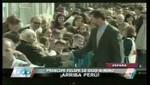 El príncipe  Felipe de España  le dijo 'Arriba Perú' a un niño en Madrid [VIDEO]