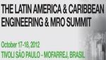 Encuentro Latin America & Caribbean Engineering & MRO Summit de ALTA y UBM Aviation se celebra la próxima semana del 17 al 18 de octubre de 2012 en el Tivoli Sao Paulo - Mofarrej Hotel de Sao Paulo, Brasil