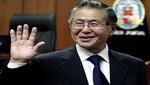 Fujimori está sanito