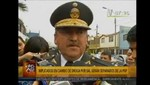 Jefe Antidrogas de Huamanga fue relevado tras escándalo por robo de cocaína [VIDEO]