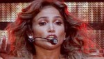 Jennifer Lopez mostr uno de sus pezones en concierto [FOTO]