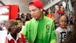 Cristano Ronaldo y la selección de Portugal realizan obra de caridad [FOTOS]