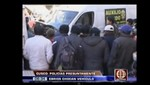 Policías chocaron vehículo contra  una vivienda en Cusco [VIDEO]