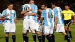 Selección de Argentina venció por 2-1 a Chile en Santiago