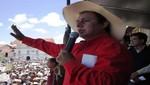 MAS: Gregorio Santos es el indicado para representarnos en elecciones de 2016