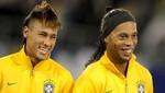 Ronaldinho afirma que Neymar es su inspiración