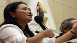 Keiko Fujimori le responde a Toledo: sería bueno que cuando tome, no declare [VIDEO]