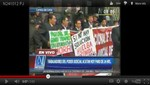 Trabajadores del Poder Judicial en huelga [VIDEO]