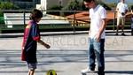 Niño sin pies cumplió su sueño de conocer a Lionel Messi [VIDEO]
