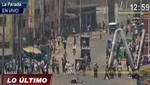 Comerciantes de la Parada se declaran en huelga al ver que la policía ganó terreno en dicha zona [VIDEO]