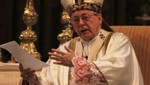 Juan Luis Cipriani pide la paz y justicia en el país
