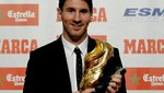 Lionel Messi recibió la Bota de Oro del fútbol europeo [VIDEO]