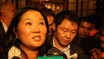 Keiko Fujimori a Justicia: firma de mi padre no es requisito para pedir indulto [VIDEO]